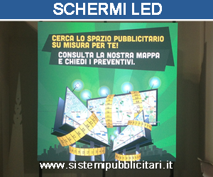 display led maxi schermo